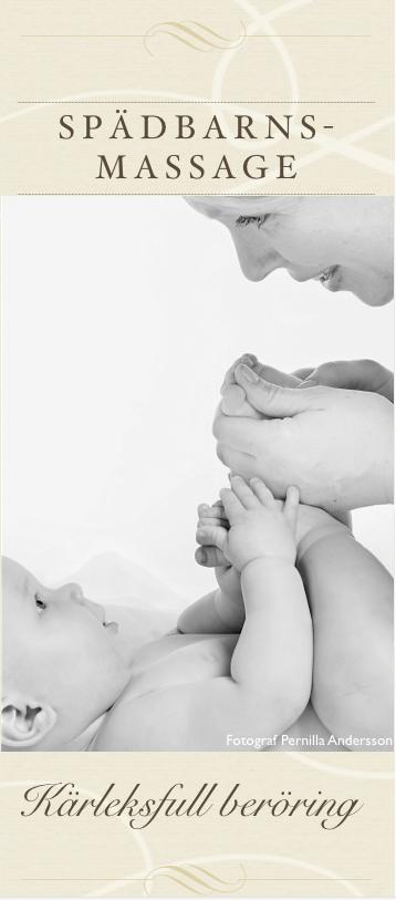 Broschyr Spädbarnsmassage PDF